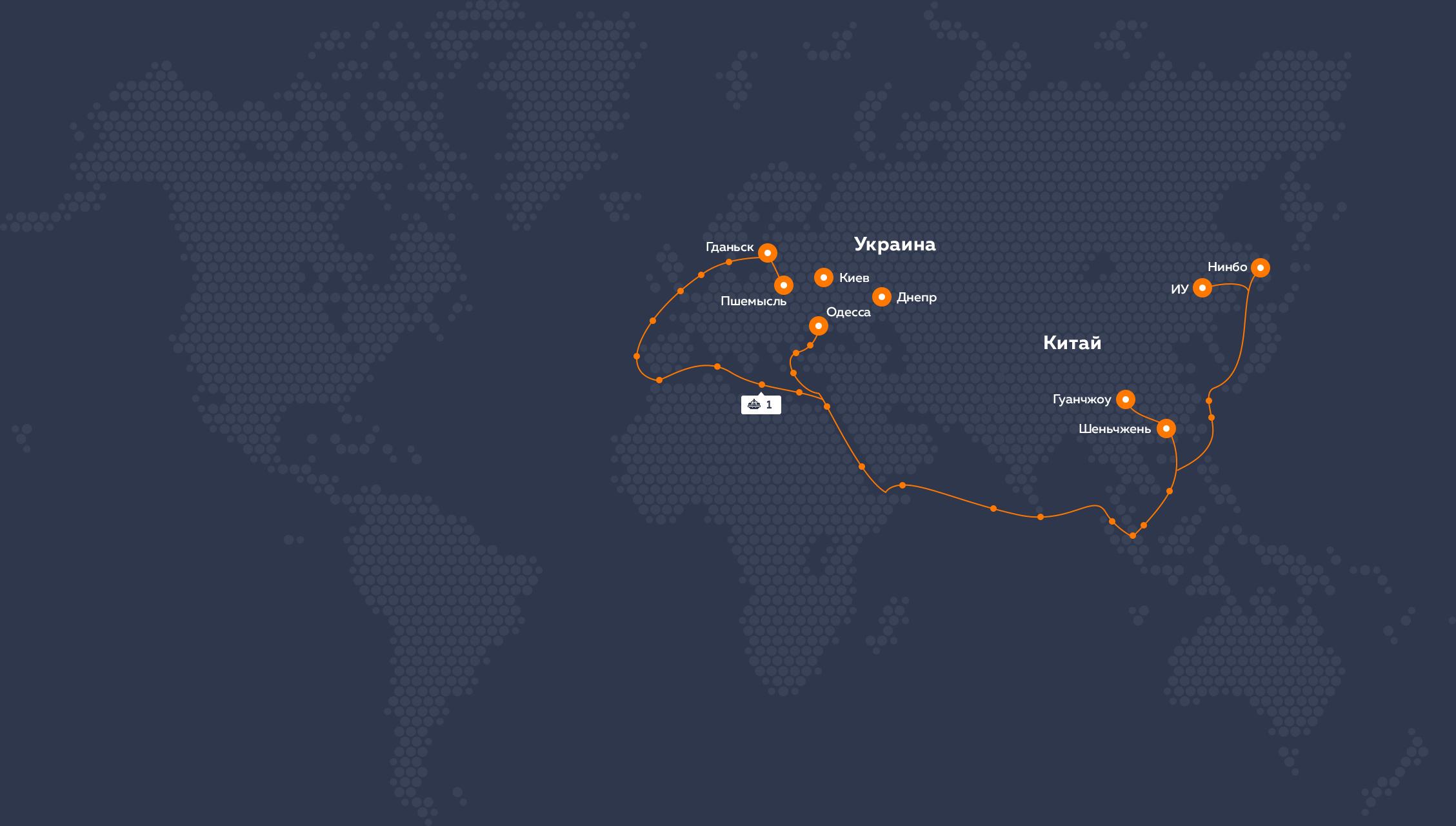 M3Cargo Map
